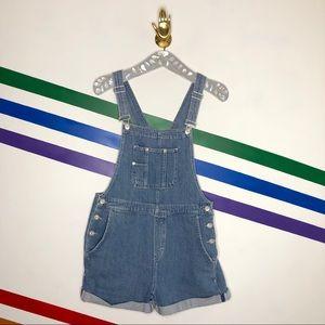 NEW We the Free shortalls denim overalls